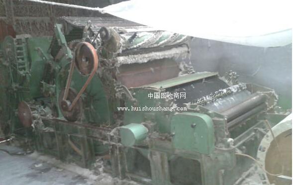 青岛纺织厂低价处理二手梳棉机