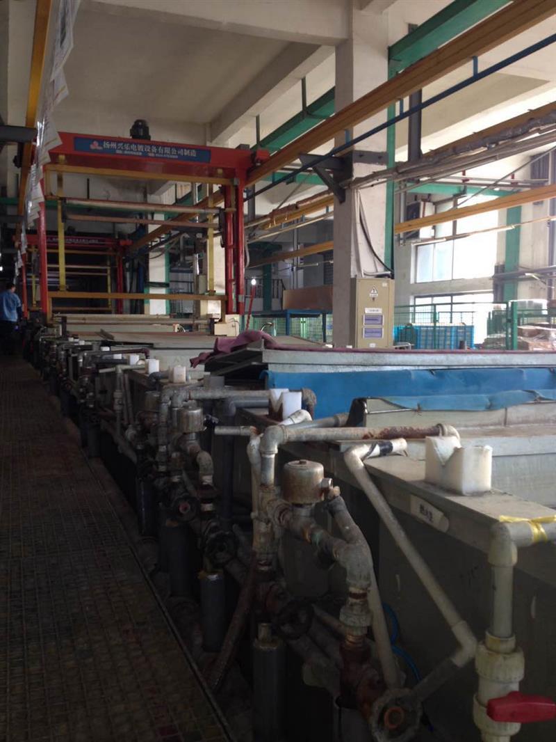 高价回收电镀厂流水线