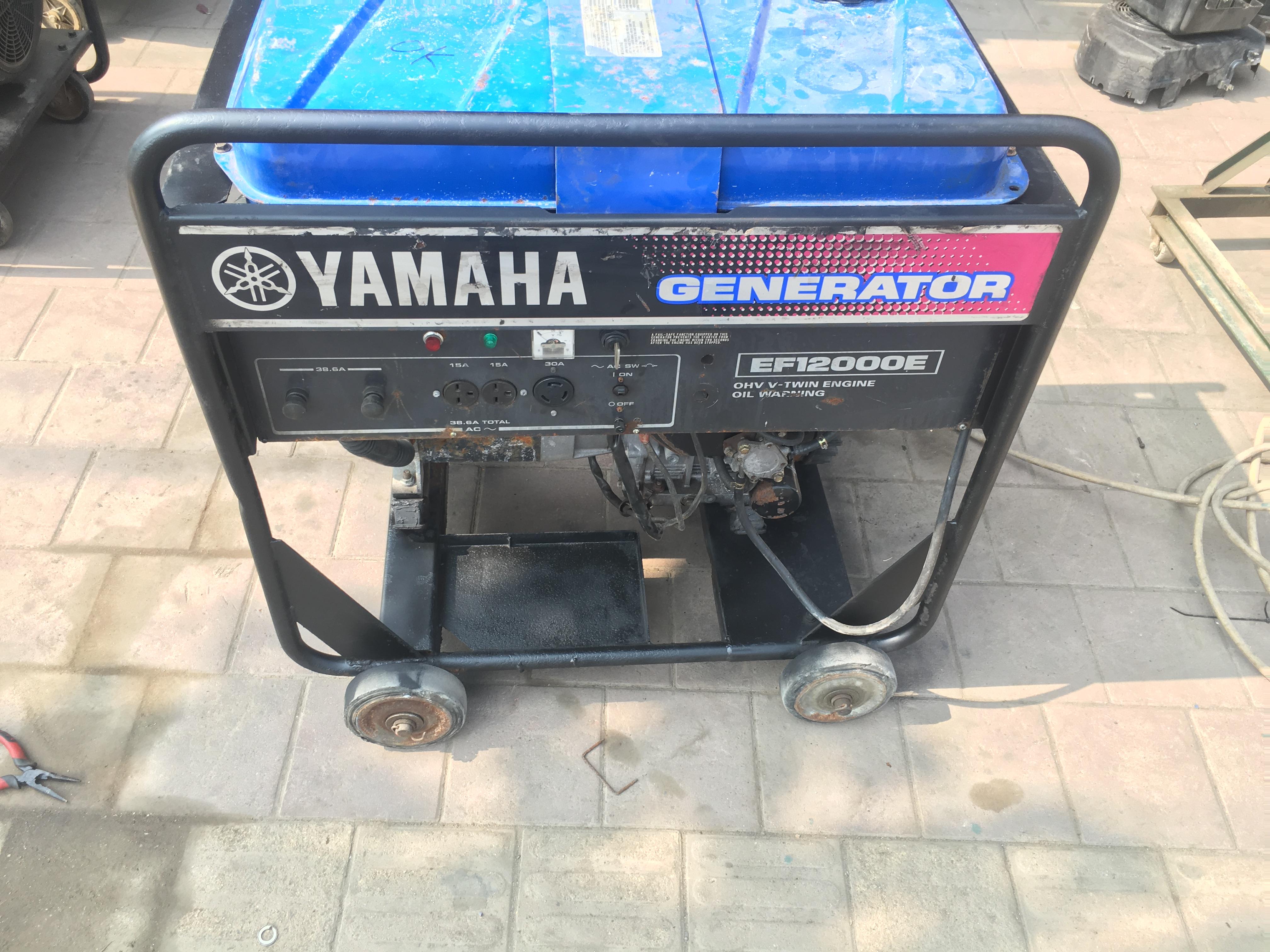 二手进口雅马哈EF13000发电机