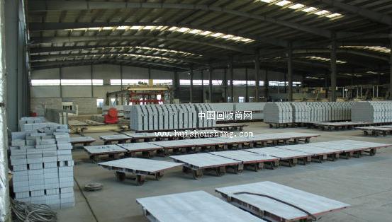 砖厂倒闭低价处理蒸压加气混凝土切块生产线设备 1300吨粉煤灰标砖设备