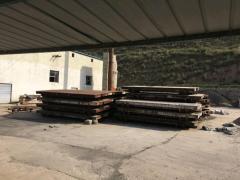 工厂低价处理蒸压釜七条 球磨机 切割机 磨板磨具等小车整条生产线设备