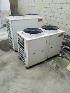 公司转型处理全套热泵机组中央空调