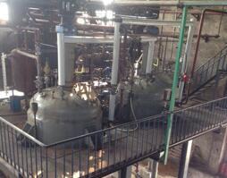 2台二手不锈钢磁力加氢反应釜