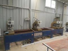 公司转让旧塑钢加工设备