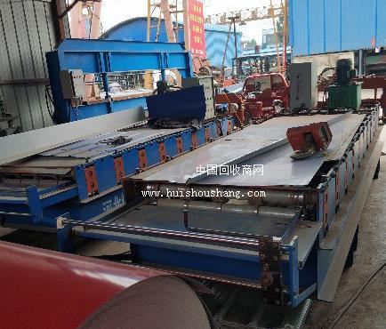 加工厂低价急转840琉璃瓦 4米折边机 剪板机等彩钢瓦设备