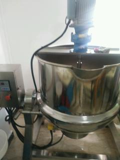 食品厂处理全套食品加工全自动双层锅