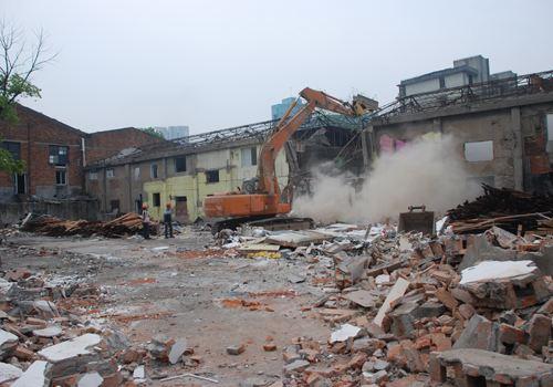 长期面向西南地区承接各大厂房拆除工程