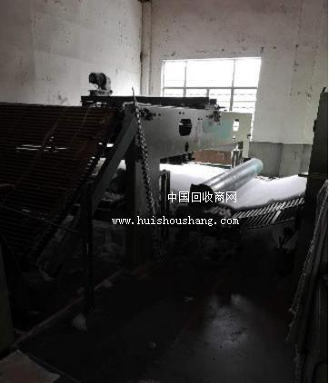 纺织厂急转中速针刺 烫光机 开松机等整套7台设备