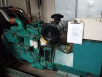 工厂处理220KW康明斯柴油发电机组 无烟焚烧炉