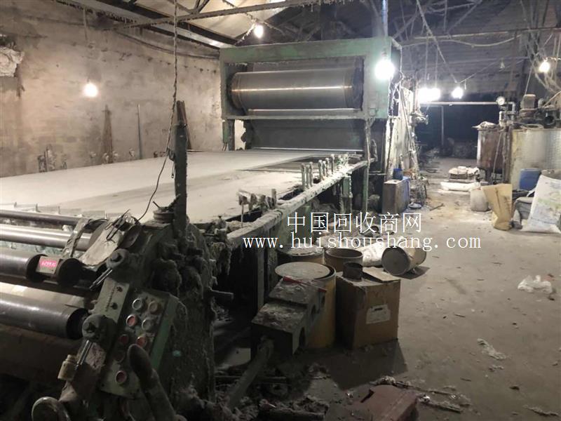 纺织厂低价处理2台浆纱机 整经机 配电机
