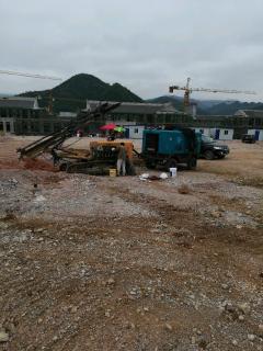 工程停建急售开山潜孔钻设备 空压机15/13 钻机920等
