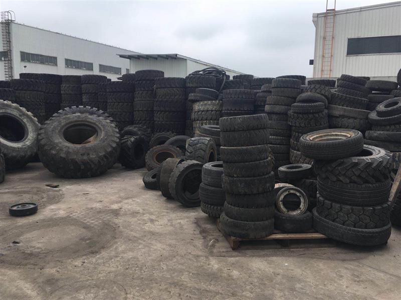 上海闵行实心轮胎回收