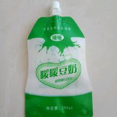 工厂停业处理3万个豆奶包装袋